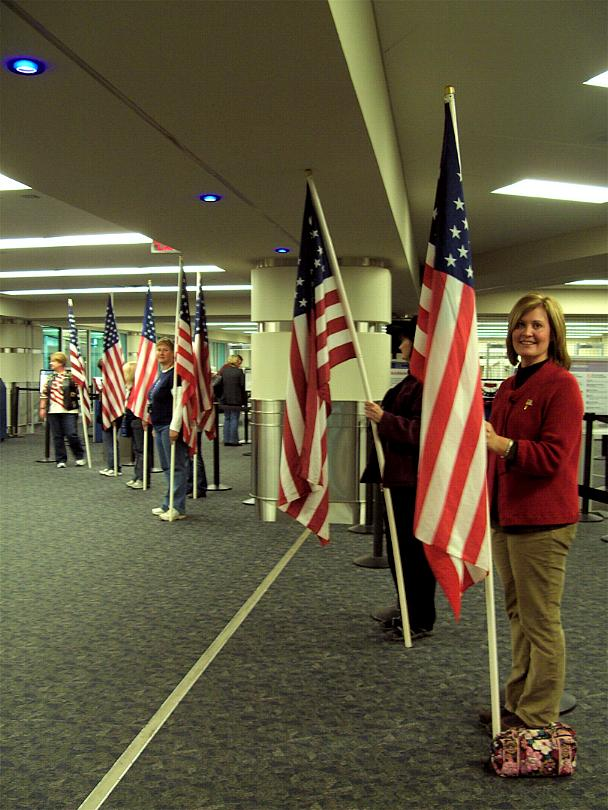 Honor Flight  Nov 7 2009